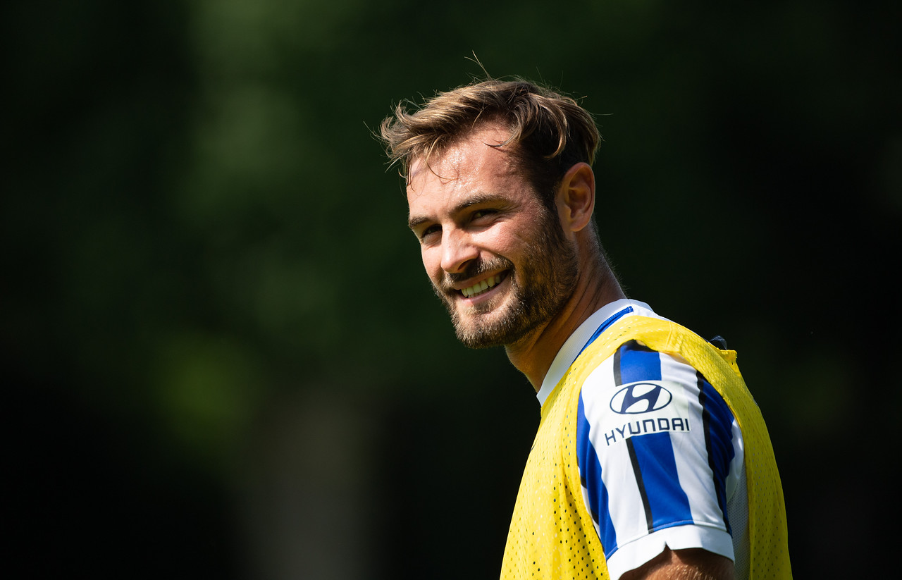 Hertha BSC Trainingsauftakt Saison 20/21 - 1.Bundesliga